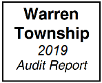 Warren Township Audit